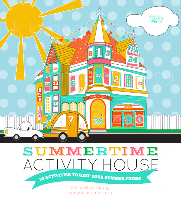 Summertime Activity House