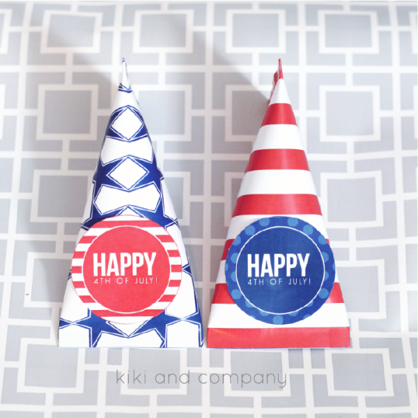 4th of July Treat Wrappers
