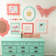 Girl's Room Makeover at Kiki and Company. 5