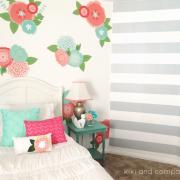 Girl's Room Makeover at Kiki and Company. 7