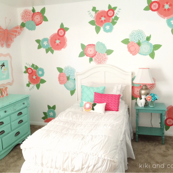 Girl S Room Makeover At Kiki And Company 2