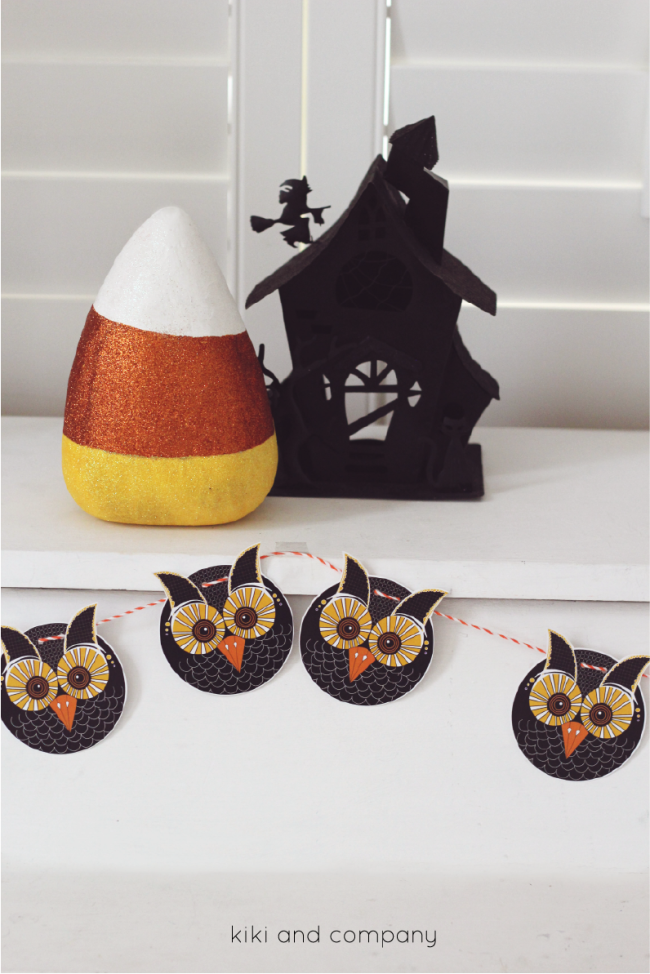 Free Owl Printables from kiki and company. cute!