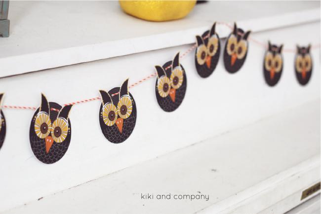 Free Owl Printables from kiki and company