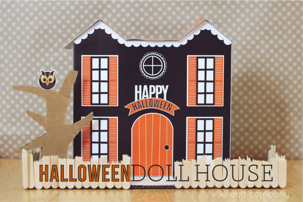 Halloween Doll House from kiki and company. LOVE!