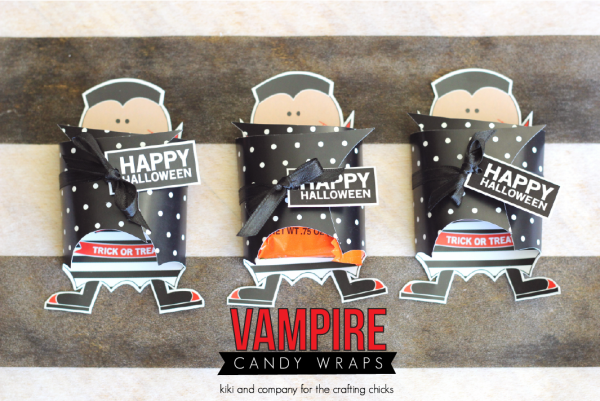 Vampire Candy Wrap from kiki and company at the crafting chicks. SO cute!