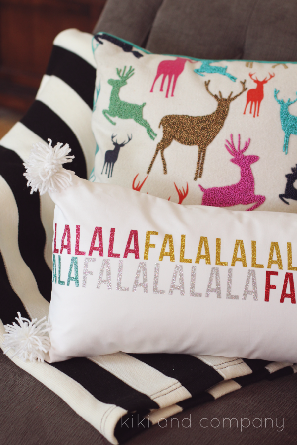 http://kikicomin.com/wp-content/uploads/2015/12/Fa-la-la-la-pillow-from-kiki-and-company.-expressionsvinyl-Cute-pillow.-e1449782054462.png