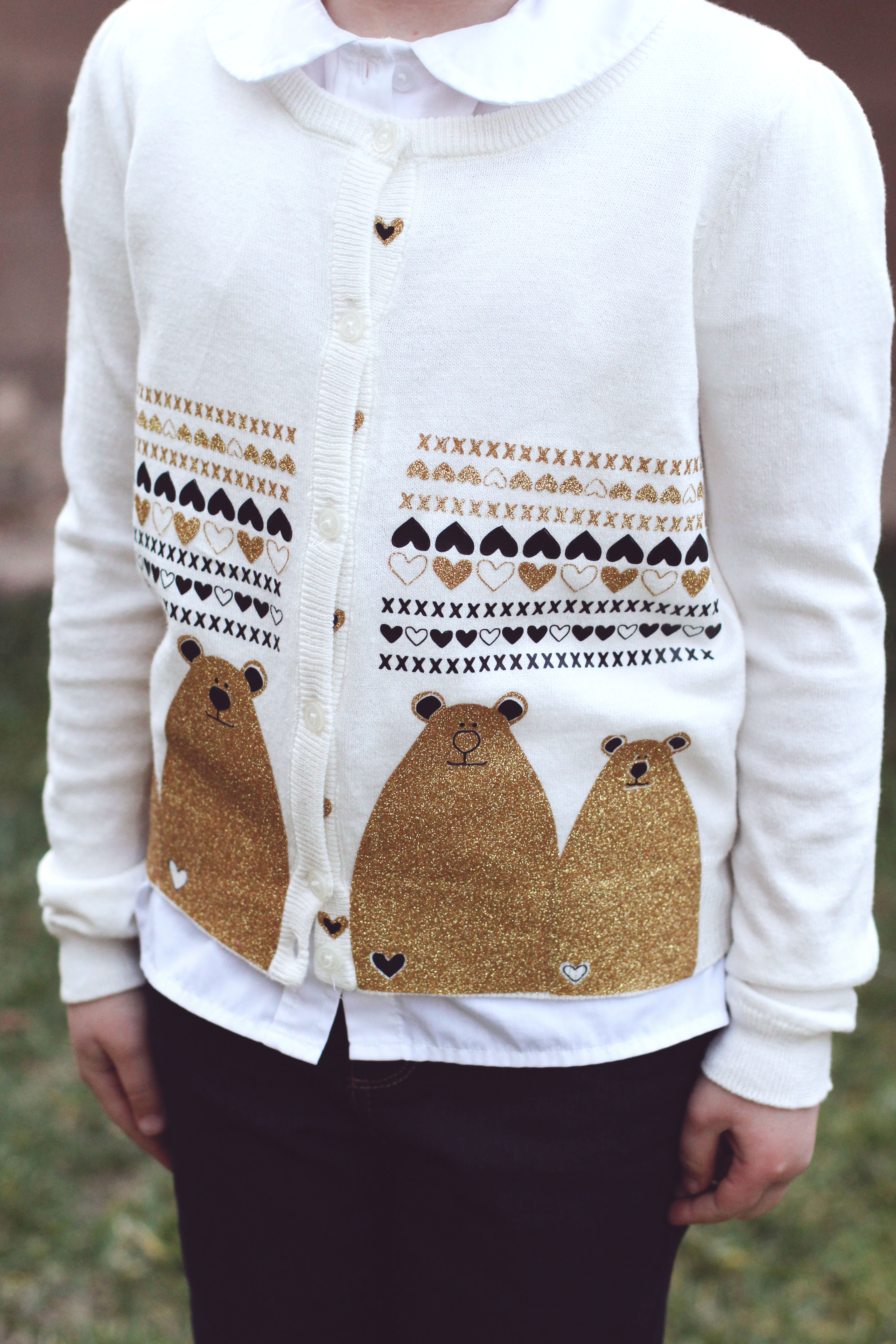 Diy Bear Sweater For Pretty Ugly Sweater Contest With