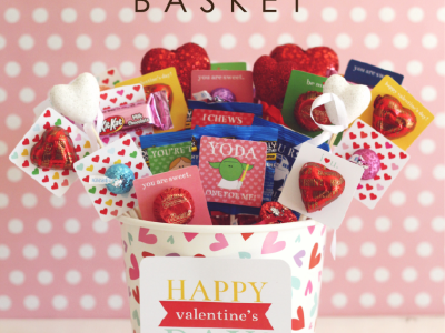 Hershey Valentine's Basket at kiki and company
