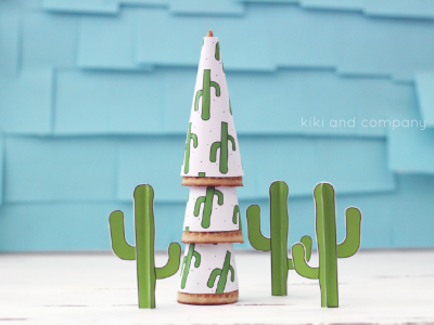 cactus party printables from kiki and company. cant wait to use these