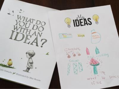 My Ideas Worksheet