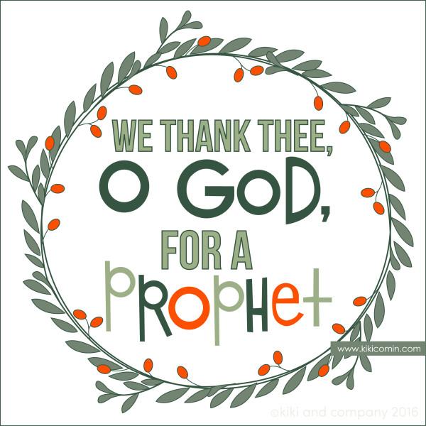 We Thank Thee O God Kiki Company