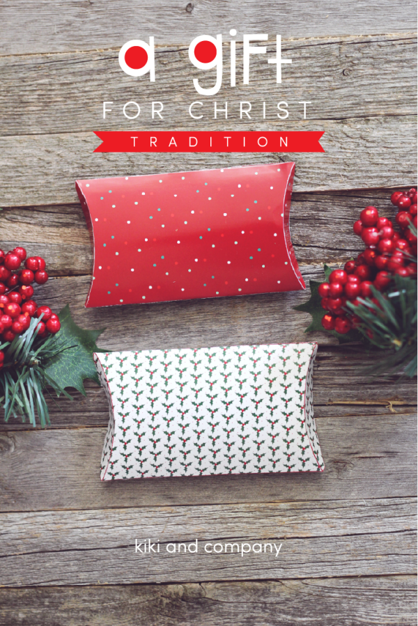 A Gift for Christ | Christmas Tradition | Family Tradition | Printable