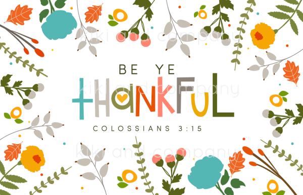 be-ye-thankful