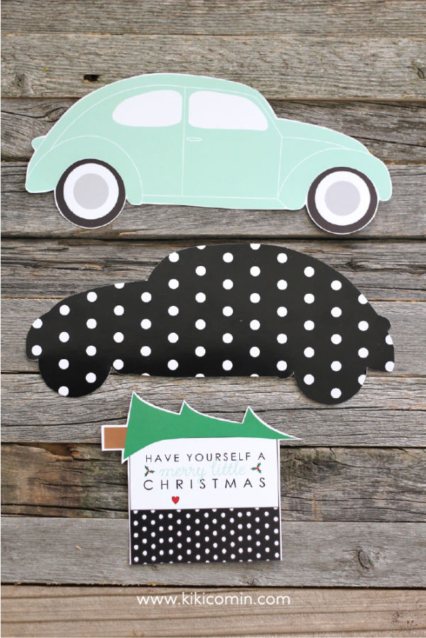 vw-bug-christmas-card-holder-card