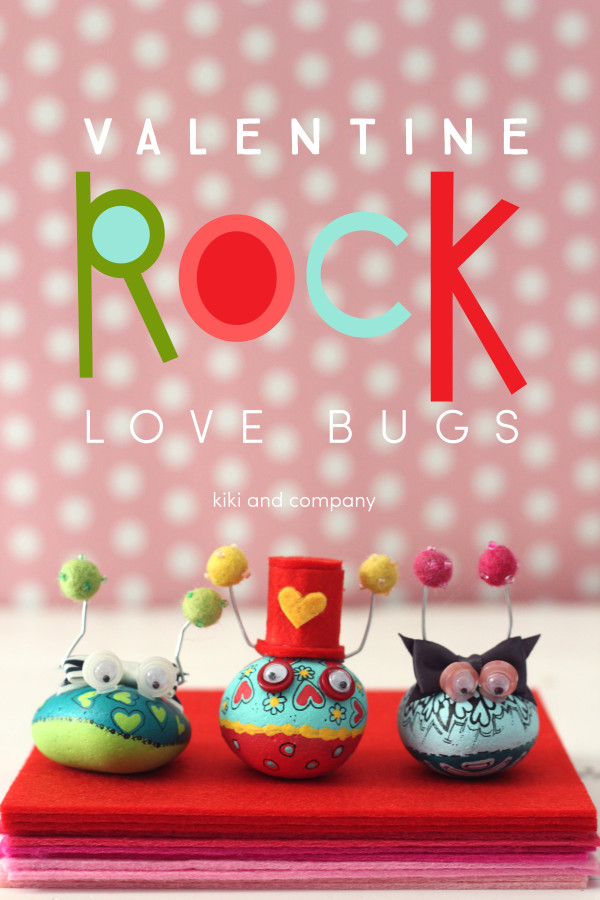Valentine Rock Love Bugs from kiki and company