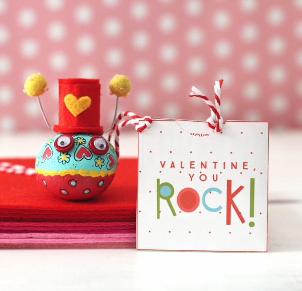 Valentine, You Rock! Love Bugs and Free Valentines + Handmade ...